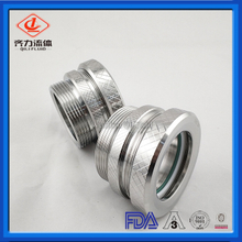 Sanitary Stainless Steel CNC Machine Custom Union Sight Glass