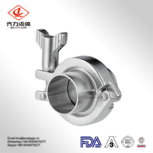 Support Customed Size 1/2''-12'' Stainless Steel Clamp Lowest Price