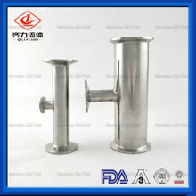Sanitary Stainless Steel Pipe Fitting Reduce Tee 304/316L with 3A Standard