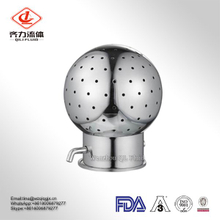SS304/316L Sanitary Stainless Steel BSPP Rotary Cleaning Spray Ball for Tank
