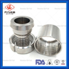 Sanitary Stainless Steel Hose Rubber Fitting Crimp Ferrule