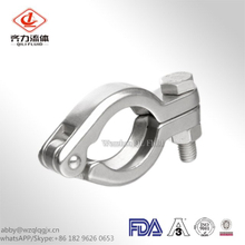 Stainless Steel Sanitary Single Pin Heavy Duty Tri Clamp Pipe Fittings