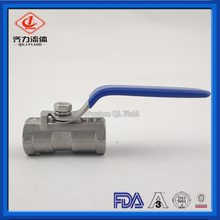 Sanitary Stainless Steel One-Piece Ball Valve