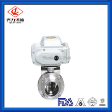 Electric Sanitary Tri Clamp Butterfly Valve