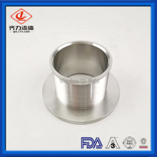 Stainless Steel Custom Long Length Ferrule with Flange Connection