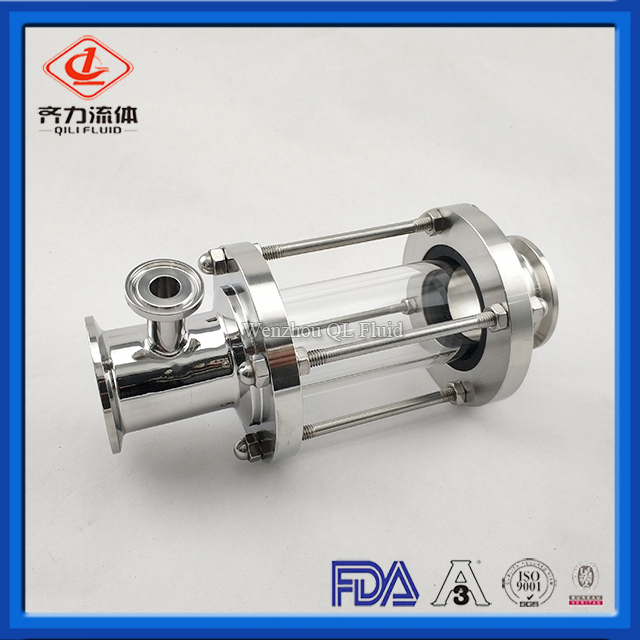 Sanitary Stainless Steel Clamp Fluid Sight Glass for Beer