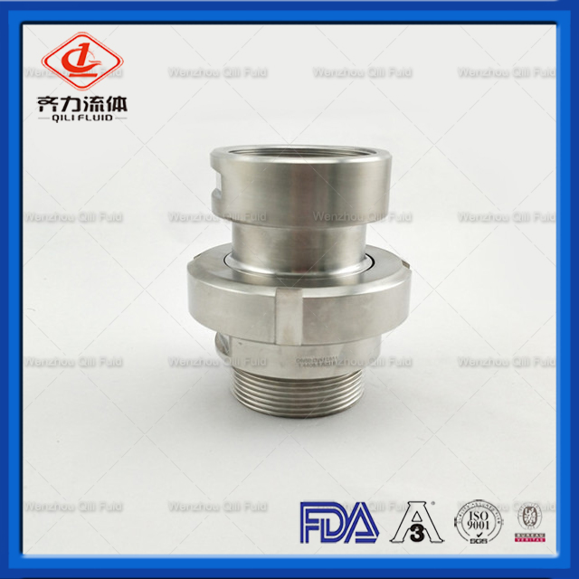 Food Grade Stainless Steel Threaded Ferrule Fitting