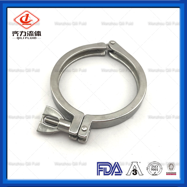 Single Pin Heavy Duty Clamp with Cross Hole Nut