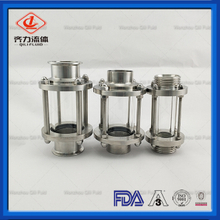 Sanitary Stainless Steel liquid Inline Sight Glass