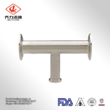 304/316L Sanitary Stainless Steel Long Pip Tee with 3A/DIN/SMS/Sio/Rjt Standard