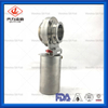 Sanitary Stainless Steel Welded Pneumatic Butterfly Valve