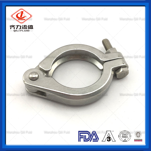 Stainless Steel 13IU Bolted Clamp for Pipe Fittings