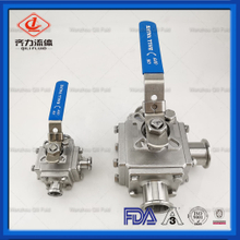 Stainless Steel 3 Way T Or L Type Ball Valves