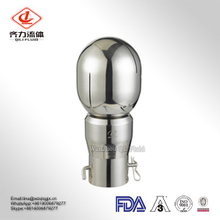 Sanitary Stainless Steel BSPP Rotary Cleaning Spray Ball for Tank