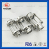 Sanitary Tubular/ Inline Stainless Steel Sight Glass with Glass Tube Circular Sight Glass for Brewing