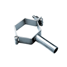 Sanitary stainless steel pipe hanger hexagon