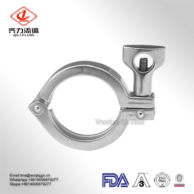 Factory Price Stainless Steel 304/316L Single Clamp