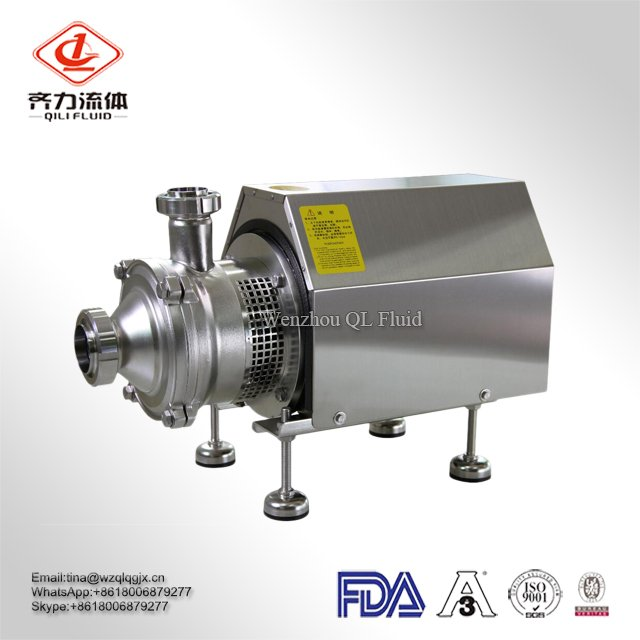 Hot Sale Stainless Steel Food Grade Sanitary Milk Pump Centrifugal Pump