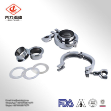 Stainless Steel Sanitary Tri Clamp Pipe Weld Ferrules and Clamp Kit Price