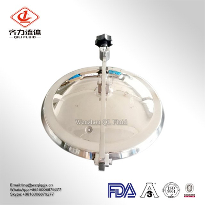304 And 316L Stainless Steel Sanitary Manhole Cover