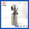 Sanitary Stainless Steel Threaded Pneumatic Butterfly Valve