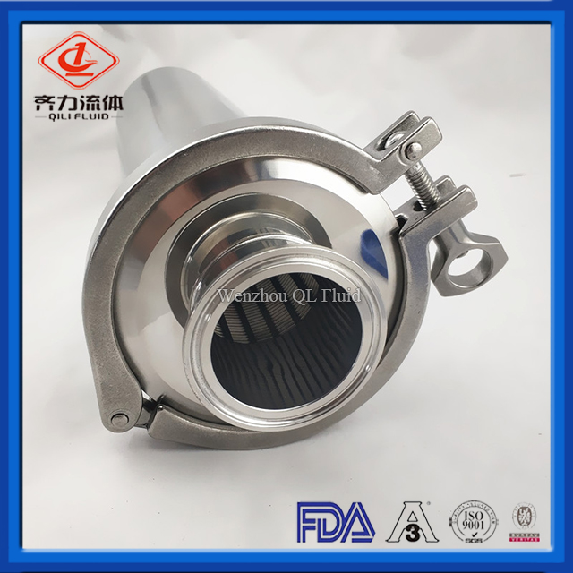 Food Grade Tri Clamp Stainless Steel Strainer