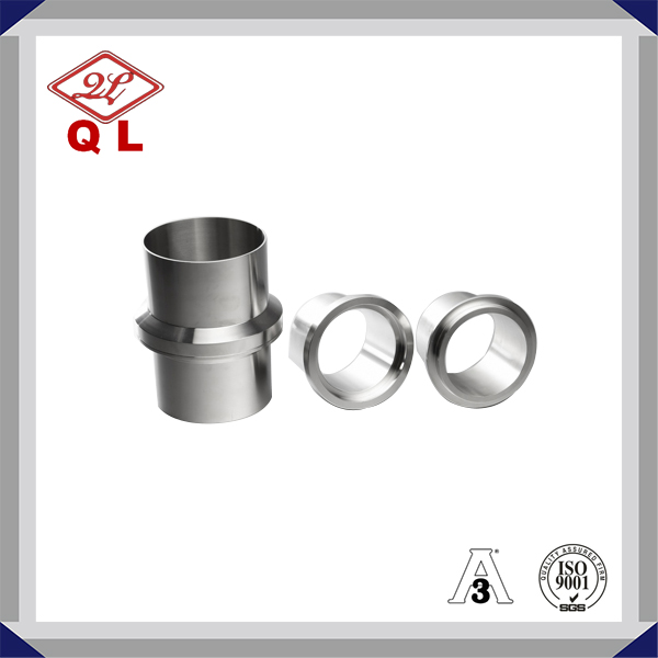 Sanitary Stainless Steel Male NPT Clamp Adapter 21MP