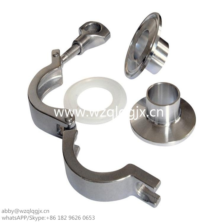 Stainless Steel Pipe Fittings Pipe Clamp - Wenzhou Qili